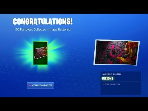 This Is What Happens When You Collect All 100 Fortbytes In Fortnite!!!