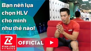 Sự khác nhau giữa VĐV và HLV Thể Hình vs HLV Cá nhân | HLV Ryan Long Fitness GYM VietCharm, sự khác nhau, su khac nhau giua, haivl