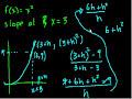 Calculus: Derivatives 2 Video Tutorial