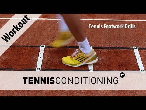 Tennis Footwork Drills | Tennis Conditioning