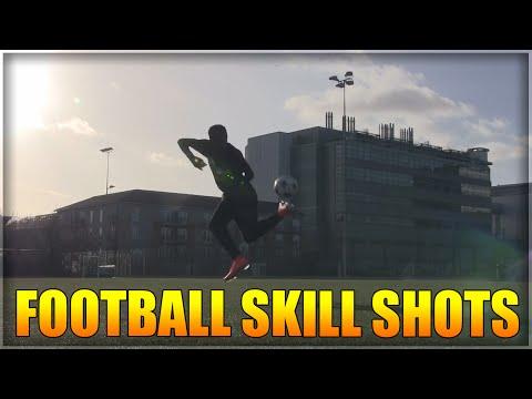 FOOTBALL: SKILL SHOTS AND CROSSBAR TRICKS!