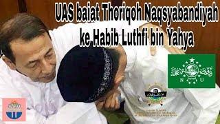 Video Subhanallah..!! Habib Luthfi Panggil UAS Syekh Abdul Somad & membaiatnya Thoriqoh Naqsyabandiyah MP3, 3GP, MP4, WEBM, AVI, FLV April 2019