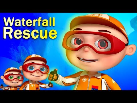 Zool Babies Series - Waterfall Rescue | New Episode | Cartoon Animation For Children | Kids Shows