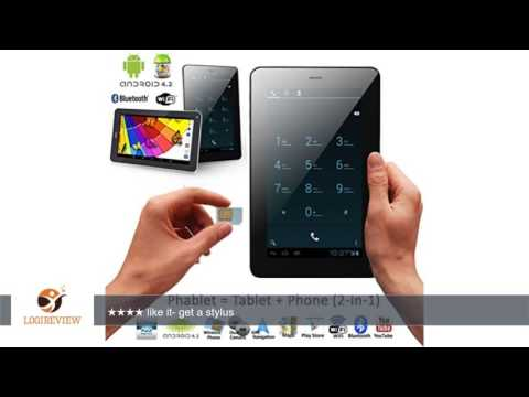 inDigi® Android 4.2 Wireless Smart Phone Tablet Mega 7.0