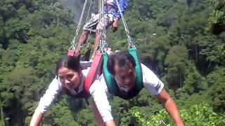 Lake Sebu Philippines  city pictures gallery : Lake Sebu Zipline-(7 falls )the highest zipline in Asia(Philippines)