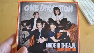 ONE DIRECTION - Made In The A.M. (Deluxe Edition) | UNBOXING
