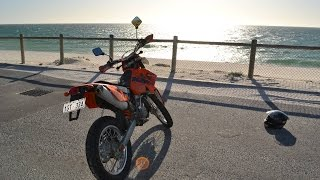 5. KTM 450 exc review