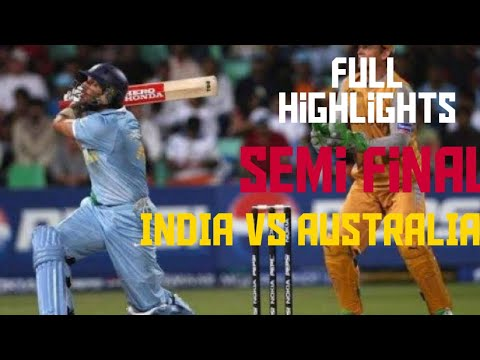 India vs Australia 2007 T20 World cup semi final full match highlights||