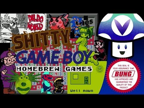 [Vinesauce] Vinny - Shitty Game Boy Homebrew Games (видео)