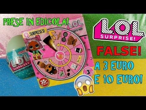 APRO LOL SURPRISE PRESE IN EDICOLA! A 3 EURO E 10 EURO! COME SARANNO Iolanda Sweets (видео)