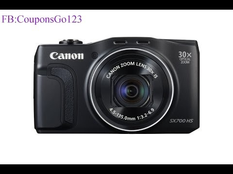 Canon PowerShot SX700 HS Digital Camera Features in Brief