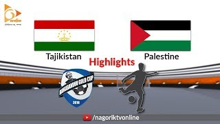 Palestine vs Tajikistan - Highlights - Bangabandhu Gold Cup 2018