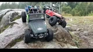 Video Custom built Jeeps Madness water and rock climbing rc 4x4 Adventure MP3, 3GP, MP4, WEBM, AVI, FLV Oktober 2018