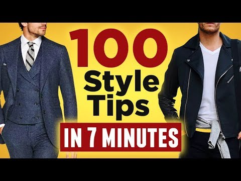 100 Style Tips in Less Than 7 Minutes | RMRS Style Videos