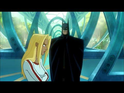 Batman doesn't trust Supergirl