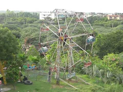 The Indian style Ferris Wheel
