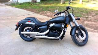 8. 2013 honda shadow 750 phantom