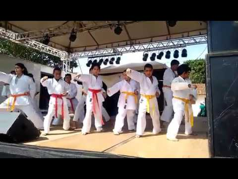 Karate olhos dagua .