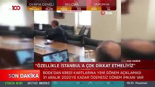 Süleyman Soylu Video Konferans - Tv100