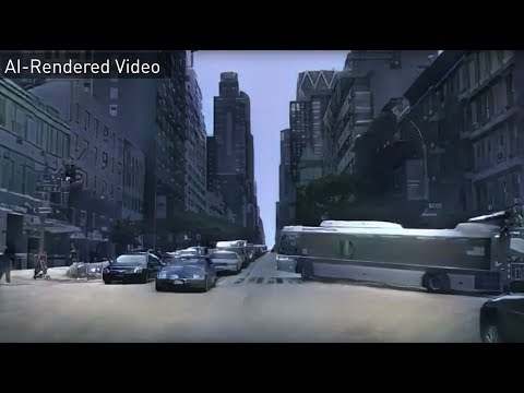 NVIDIA Creates First Artificial Intelligence Rendered Virtual