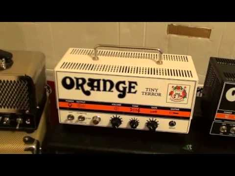Amp Comparison - Orange Tiny Terror, Orange Dark Terror, VOX Night Train