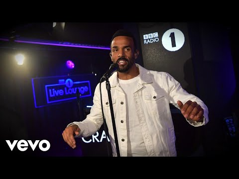 Craig David - Wild Thoughts/Music Sounds Better With You in the Live Lounge