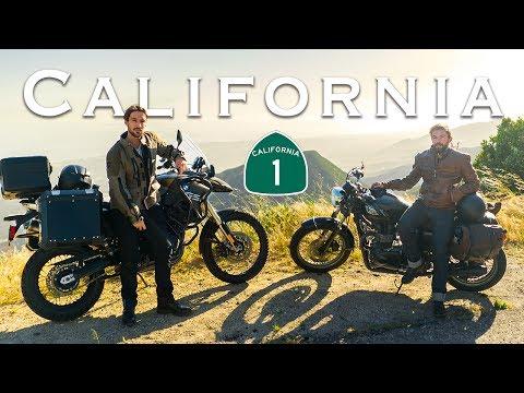 Exploring California by Motorcycle   LA to Big Sur Moto Camping