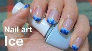 Nail :冰感清涼美甲教學 Cool Summer Ice Touch Nail
