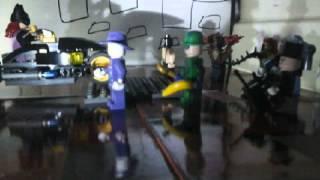 Lego bad guy attack  #picpac #stopmotion #lego