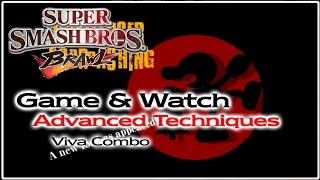 [SSBB] G&W Advanced Tactics: Viva Combo