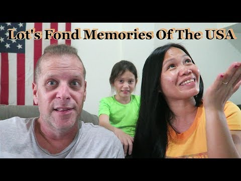 Lot's Fond Memories Of Her Time While Living In The U.S.A.