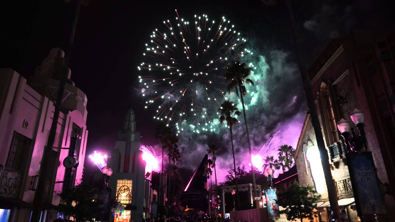 Frozen Fireworks - Multi Angle