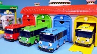 타요 Tayo 꼬마버스 타요 중앙차고지 로보카폴리 Робокар Поли 뽀로로 또봇 타요 주유소 Tayo the little bus Garage & Gas station