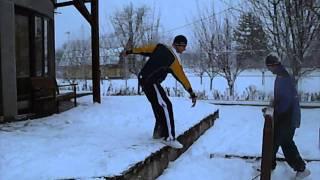Campina Romania  city photos gallery : Parkour & Free Running - Campina, Romania - Winter Training