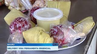 Delivery  vira  ferramenta essencial para comerciantes durante a pandemia
