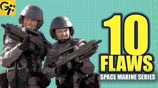 Video 10 FLAWS with the STARSHIP TROOPERS Mobile Infantry | BEST SPACE MARINE SERIES MP3, 3GP, MP4, WEBM, AVI, FLV Desember 2018