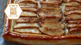 French Apple Tart - Topless Baker