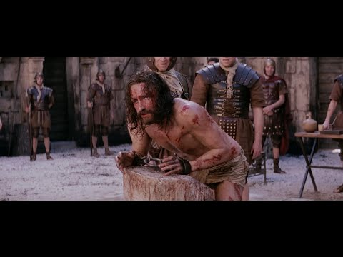 The Passion of the Christ 2004 || The Scourging of Jesus ( Jesus is Scourged )
