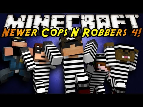 Minecraft Mini-Game : COPS N ROBBERS 3.0 ROUND FOUR!