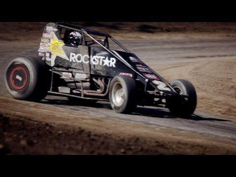 Racing - IndyCar driver Alex Lloyd tries his hand at Sprint Car racing with a little help from former 1974 IndyCar Rookie of the Year Pancho Carter Connect To IndyCar...