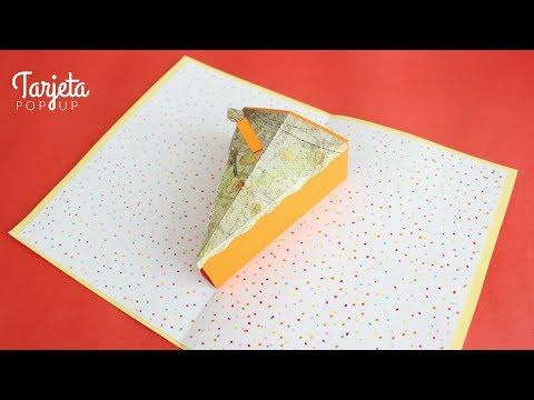 Tarjetas de amor - Carta / Tarjeta Pop Up de Cumpleaños