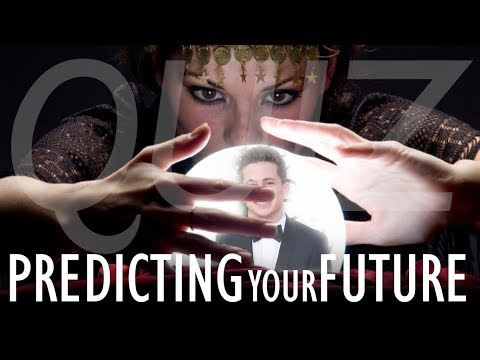 Quiz To Predict YOUR FUTURE (Who are you going to marry?)