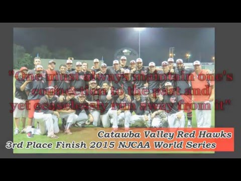 2016 CVCC Red Hawks Baseball Hype Video