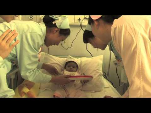รพ.ฟูด้ารักษาเด็กมะเร็งก้อนใหญ่หาย