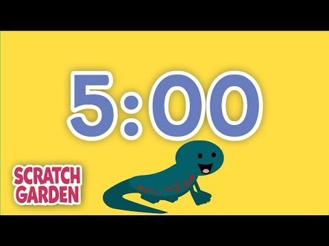 The Five-Minute Break Song | 5 Minute Timer | Scratch Garden
