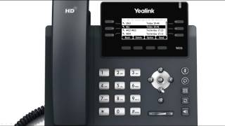 T41P/T42G IP Phone - Redialing Numbers