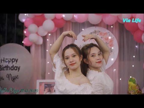 Video sinh nhật đẹp 2 chị em sinh đôi