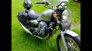 6. Moto Guzzi review  Nevada 750 Super easy to maintain. No Intro