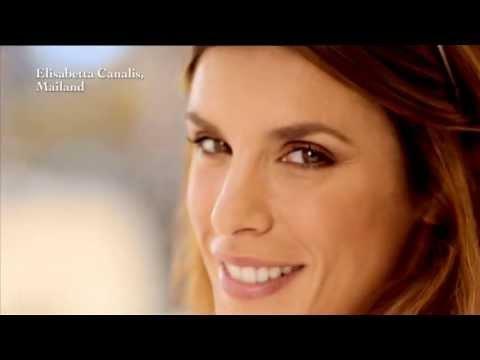 La pubblicità con Elisabetta Canalis a Gallarate