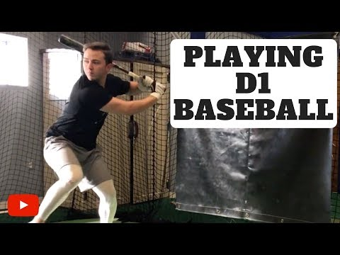 What It's Like Playing Division 1 College Baseball